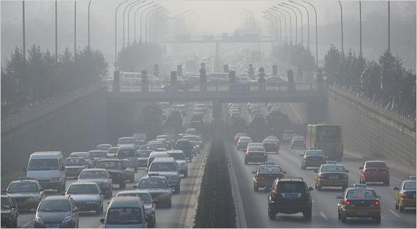Báo động đỏ chất lượng không khí tại đô thị