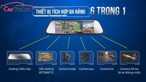 Camera Vietmap G79 (màn hình Gương)