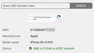 Check nhà mạng iphone lock