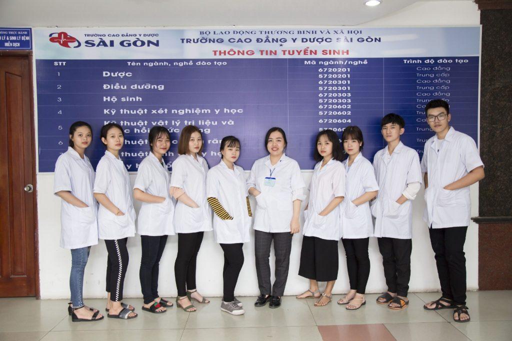 Trường Cao đẳng Y Dược Sài Gòn sẽ có nhiều đợt tổ chức nhận hồ sơ xét tuyển